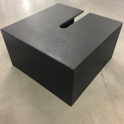 Standard Tank Trap Hide - Black