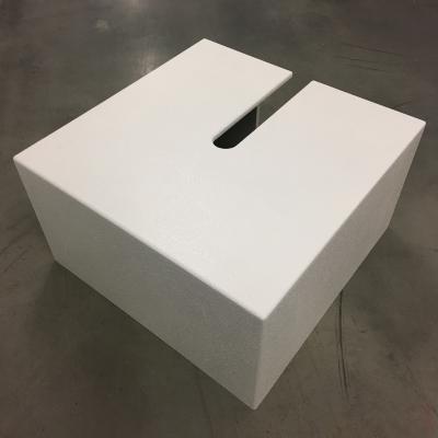 Standard Tank Trap Hide - White